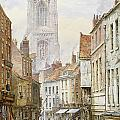 A View of Irongate Print by Louise J Rayner