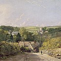 A View of Osmington Village with the Church and Vicarage Print by John Constable