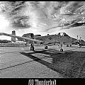 A10 Thunderbolt Poster by Greg Fortier