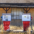 Abandoned Gas Pumps and Station Poster by Dave & Les Jacobs