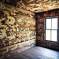 Abandoned Smoky Mountains Farm House - The Window Poster by Dave Allen