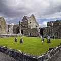Abbeyknockmoy, Cistercian Abbey Of Print by The Irish Image Collection
