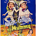 Abbott And Costello Meet The Mummy Print by Everett