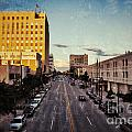 Above College Avenue Print by Shutter Happens Photography