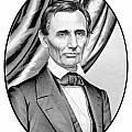 Abraham Lincoln Circa 1860 Poster by War Is Hell Store