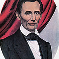 Abraham Lincoln, Republican Candidate Print by Photo Researchers