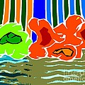 ABSTRACT 229 Print by Patrick J Murphy