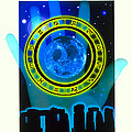 Abstract Artwork Of Fortune Telling Poster by Victor Habbick Visions
