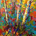 Abstract Autumn II Poster by Marion Rose