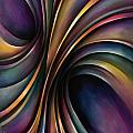 abstract design 55 Poster by Michael Lang