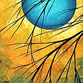 Abstract Landscape Art PASSING BEAUTY 1 of 5 Poster by Megan Duncanson
