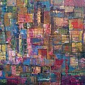 Abstract Quilt Poster by Robert Anderson