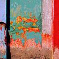 Abstract Wall by Michael Fitzpatrick Poster by Olden Mexico