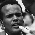 Actor And Singer Harry Belafonte Poster by Everett