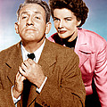 Adams Rib, From Left Spencer Tracy Poster by Everett