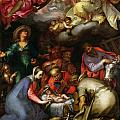 Adoration of the Shepherds Poster by Abraham Bloemaert