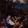 Adoration Of The Shepherds Print by Guido Reni