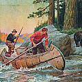 Adventures On The Nipigon Poster by JQ Licensing
