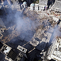 Aerial View Of The Destruction Where Print by Stocktrek Images
