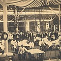 African American Waiters At A Banquet Print by Everett