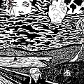 after MUNCH Print by Roberto Edmanson-Harrison
