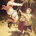 After School Print by Frederick Morgan