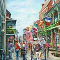 Afternoon on St. Ann Print by Dianne Parks