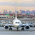 Airport Overlook the Big City Poster by Mike McGlothlen