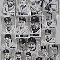 AL East Champions Red Sox newspaper poster Print by Dave Olsen