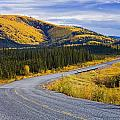 Alaska Highway Near Beaver Creek Poster by Yves Marcoux