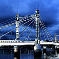 Albert bridge London Poster by Jasna Buncic