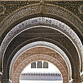 Alhambra arches Poster by Jane Rix