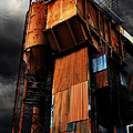 Alive and Well in America . The Old Concrete Plant in Berkeley California . 7D13967 Print by Wingsdomain Art and Photography
