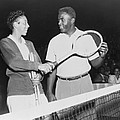 Althea Gibson 1927-2003 And Jackie Print by Everett