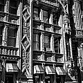 Alwyn Court Building Detail 14 Poster by Val Black Russian Tourchin