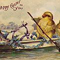 AMERICAN EASTER CARD Poster by Granger