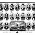 American Presidents First Hundred Years Print by War Is Hell Store