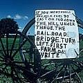 Amish Sign by the signs of the times collection