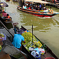 ampawa floating market Poster by Adrian Evans