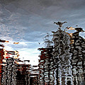 Amsterdam Reflections Print by Andy Prendy