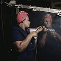 An African American Rosy The Riveter Poster by Everett