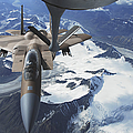 An F-15c Eagle Aircraft Sits Print by Stocktrek Images