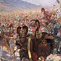 Ancient Warriors Print by Georges Marie Rochegrosse