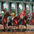 And They're Off Print by Thomas Allen Pauly