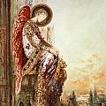 Angel Traveller Poster by Gustave Moreau