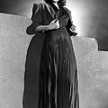 Ann Sheridan Wearing Pleated Evening Poster by Everett