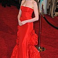 Anne Hathaway Wearing Valentino Dress Poster by Everett