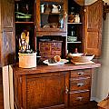 Antique Hoosier Cabinet Poster by Carmen Del Valle