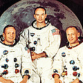 Apollo 11 Crew, Neil Armstrong, Michael Poster by Everett