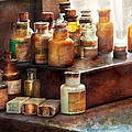 Apothecary - Chemical Ingredients  Print by Mike Savad